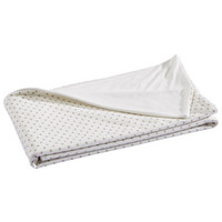 BABYDECKE - Creme/Cappuccino, KONVENTIONELL, Textil (75/100cm) - My Baby Lou