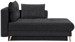 LIEGE in Textil Anthrazit  - Eichefarben/Anthrazit, KONVENTIONELL, Holz/Textil (166/96/104cm) - Venda