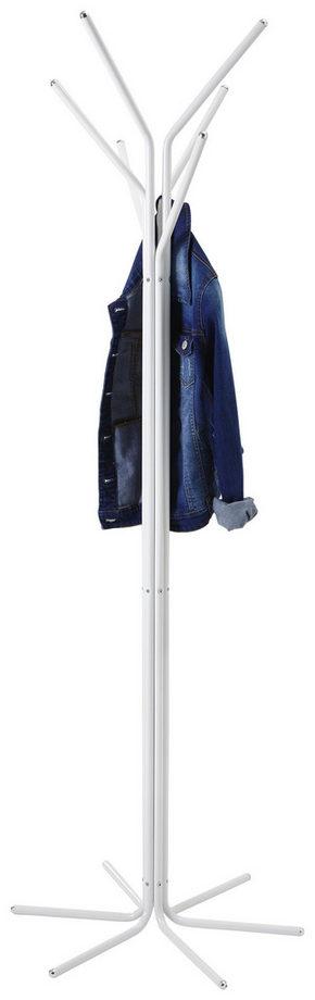 KLÄDHÄNGARE - vit, Design, metall/plast (57/169/57cm) - Xora