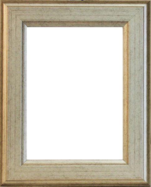 BILDERRAHMEN in Silberfarben - Silberfarben, Basics, Holz (56/46/1.8cm)