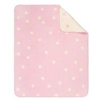 SCHMUSEDECKE 75/100 cm  - Creme/Rosa, Basics, Textil (75/100cm) - Patinio