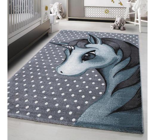 KINDERTEPPICH 160/230 cm - Blau/Weiß, Trend, Textil (160/230cm) - Ben'n'jen