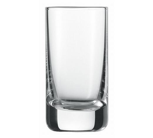 SKLENICE NA KOŘALKU - čiré, Basics, sklo (0,046l) - Schott Zwiesel