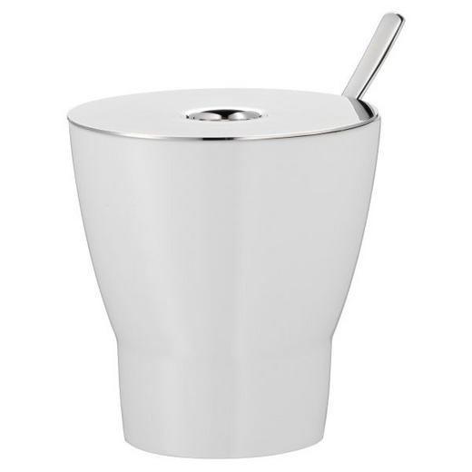 ZUCKERDOSE Keramik - Weiß, Basics, Keramik/Metall (8cm) - WMF
