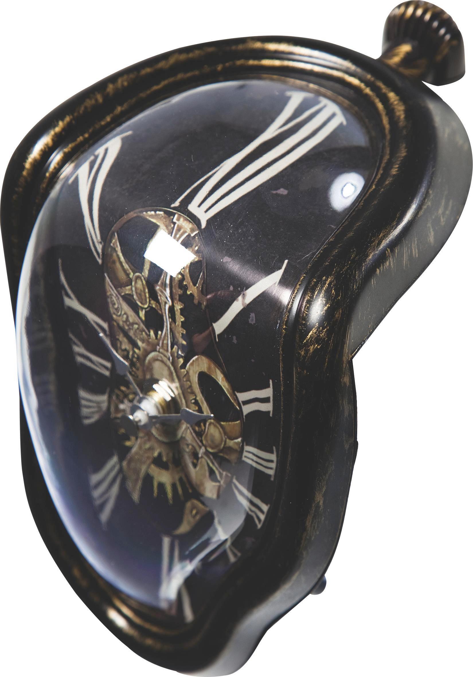 WANDUHR  Schwarz - Schwarz, MODERN, Kunststoff (12/18/13cm) - KARE-Design