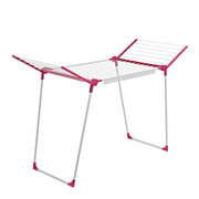 PEGASUS 180 Standtrockner - Pink/Weiß, Basics, Metall (95/105/66cm) - Leifheit