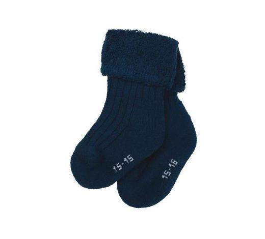 PONOŽKY - tmavě modrá, Basics, textil (16null) - Sterntaler