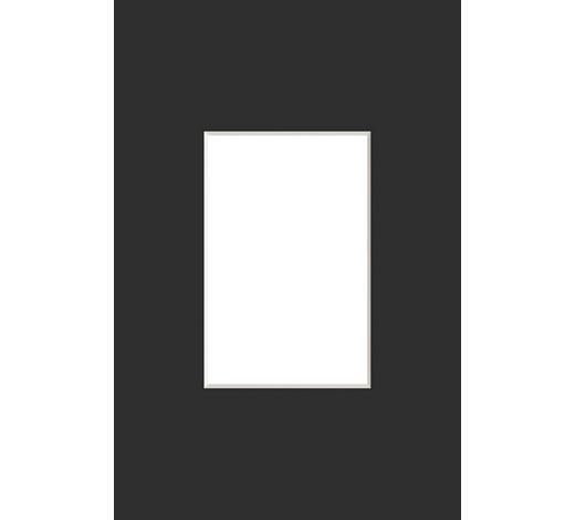 PASSEPARTOUT  Schwarz - Schwarz, Basics, Papier (13/18cm) - Nielsen