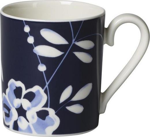KAFFEEBECHER - Blau/Weiß, Basics, Keramik (0,250l) - Villeroy & Boch