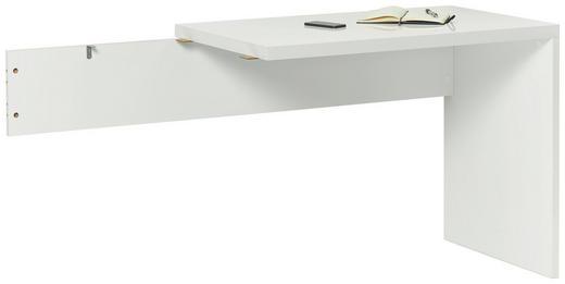 KOTNA POVEZOVALNA PLOŠČA - bela, Design, leseni material (100/75/58cm) - XORA