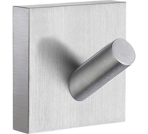 HANDTUCHHAKEN in Chromfarben - Chromfarben, Basics, Metall (4,5/4,5cm)