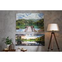 Glasbild - Multicolor, Basics, Glas (120/80cm) - Monee