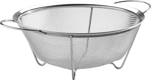 KUHINJSKO CEDILO PROFILINE - nerjaveče jeklo, Konvencionalno, kovina (22cm) - Justinus