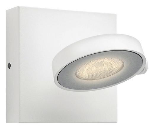 MYLIVING LED-WANDLEUCHTE - Weiß, Design, Metall (11/9/11cm) - Philips
