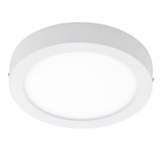 AUFBAULEUCHTE - Weiß, Design, Kunststoff/Metall (30/4cm)