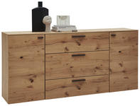 SIDEBOARD 195/91,3/41,2 cm  - Eichefarben/Anthrazit, Design, Holz/Holzwerkstoff (195/91,3/41,2cm) - Dieter Knoll