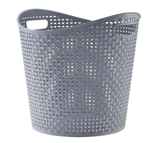 KORB - Grau, Basics, Kunststoff (27l) - Plast 1