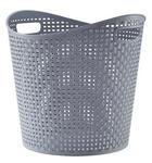 KORB - Grau, Basics, Kunststoff (27l)