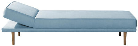 LIEGE in Textil Hellblau  - Hellblau, Design, Holz/Textil (204/44/70/83cm) - Novel