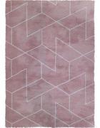 TEPIH VISOKOG FLORA - svijetlo ružičasta, Design, tekstil (80/150cm) - Novel
