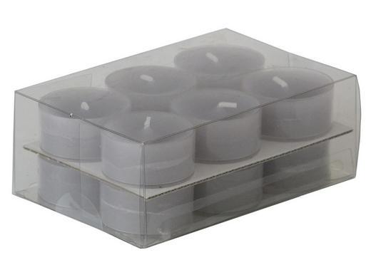 TEELICHT - Grau, Basics (3,8/1,8cm) - Ambia Home