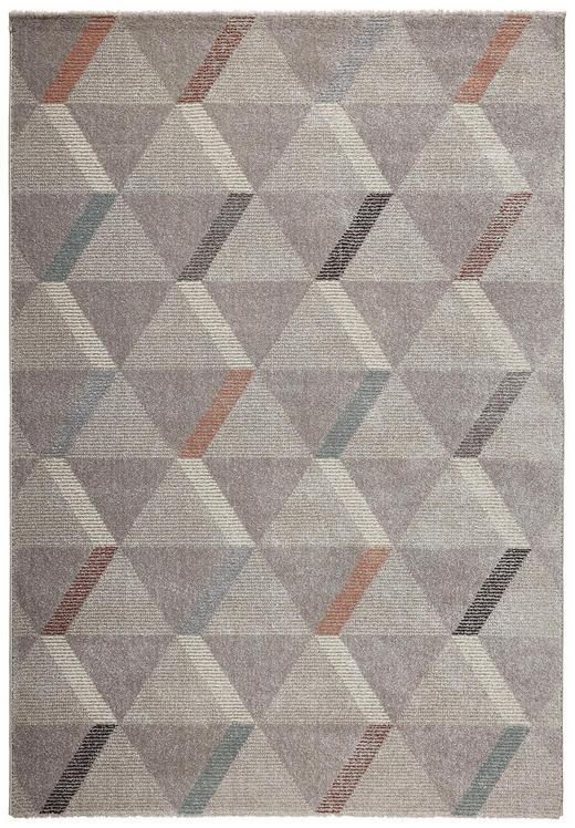 WEBTEPPICH  120/170 cm  Silberfarben - Silberfarben, Textil (120/170cm) - Novel