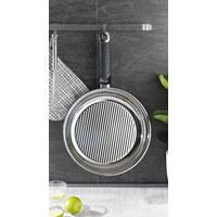 BRATPFANNE 28 cm - Silberfarben, Basics, Metall (28cm) - Fissler