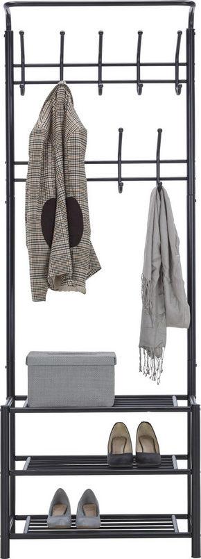 KLÄDHÄNGARE - svart, Design, metall (67/185/32cm) - Low Price