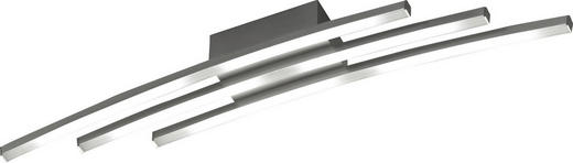 LED-DECKENLEUCHTE - Alufarben, LIFESTYLE, Metall (79,4/10/10,3cm)