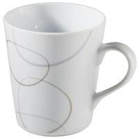 KAFFEEBECHER - Braun/Weiß, Basics, Keramik (9/9/10cm) - Ritzenhoff Breker