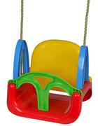 SCHAUKEL - Blau/Gelb, Basics, Kunststoff (20/33/4,5cm) - Simba