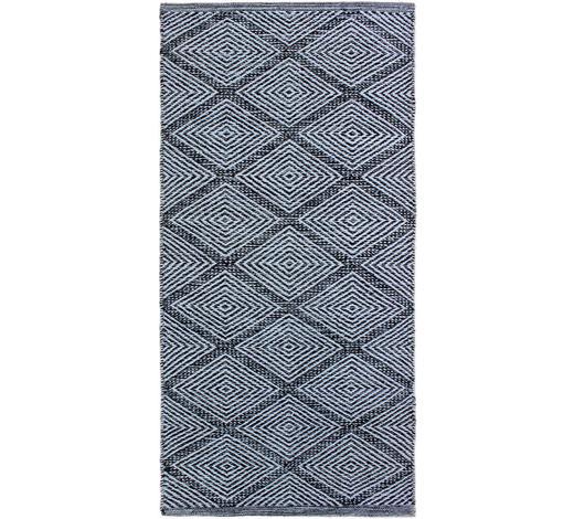 FLECKERLTEPPICH 60/120 cm - Schwarz, Design, Textil (60/120cm) - Boxxx