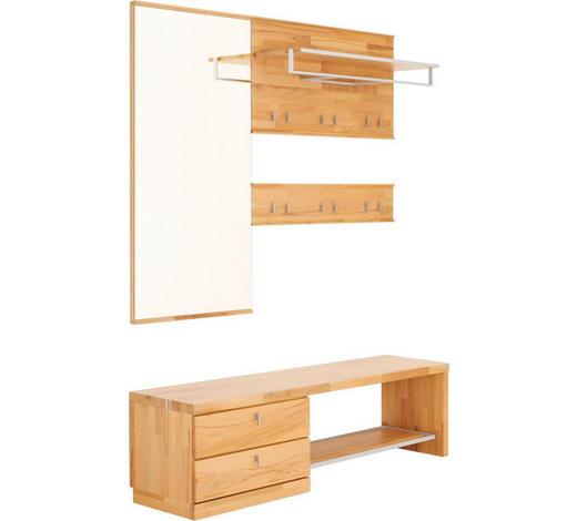 GARDEROBE - Buchefarben, Design, Glas/Holz (160/200/38cm) - Linea Natura