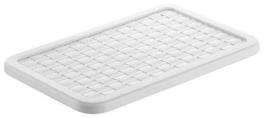 BOXDECKEL - Weiß, Basics, Kunststoff (28,4/18,9/0,13cm) - Rotho