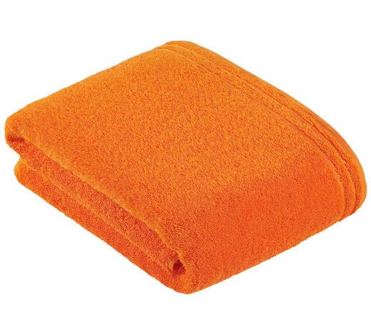 BADETUCH 100/150 cm  - Orange, Basics, Textil (100/150cm) - Vossen