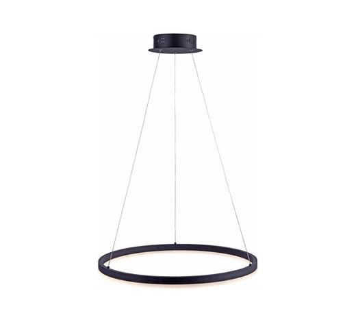 LED ZÁVĚSNÉ SVÍTIDLO - antracitová, Design, kov/umělá hmota (60/120cm)