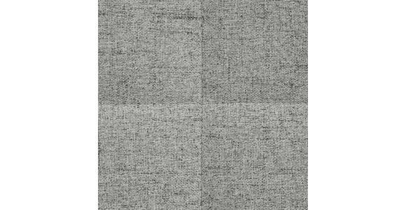 BOXSPRINGBETT 140/200 cm  in Hellgrau  - Hellgrau/Alufarben, KONVENTIONELL, Textil/Metall (140/200cm) - Dieter Knoll