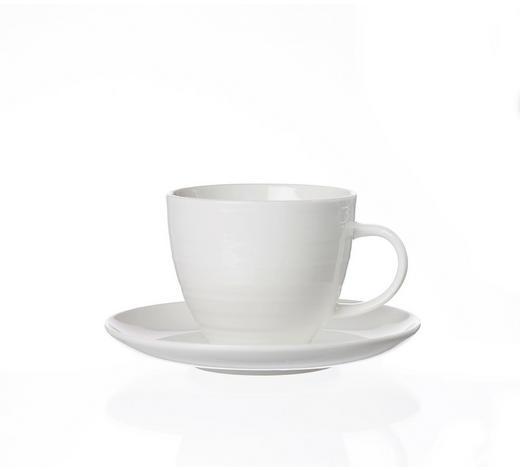 ŠÁLEK S PODŠÁLKEM, porcelán - bílá/krémová, Basics, keramika (19/13/16cm) - Ritzenhoff Breker