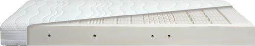 LATEXMATRATZE 90/200 cm - Weiß, Basics, Textil (90/200cm) - Diamona