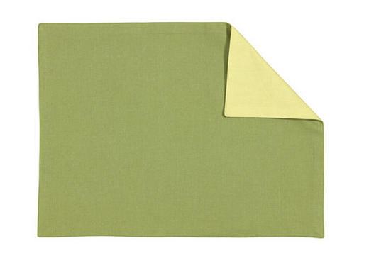 PROSTÍRÁNÍ - zelená, Basics, textil (35/46cm) - LINUM