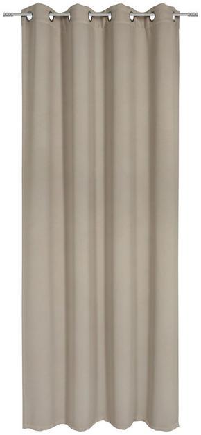ÖLJETTLÄNGD - mullvadsfärgad/gråbrun, Basics, textil (140/245cm) - Esposa