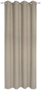 ÖSENVORHANG black-out (lichtundurchlässig) - Taupe, Basics, Textil (140/245cm) - Esposa