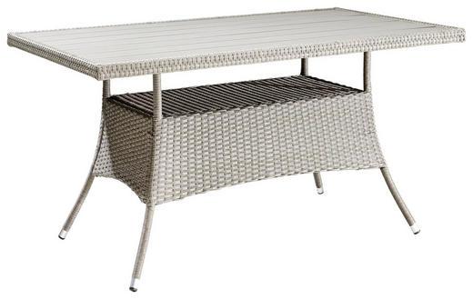 GARTENTISCH 150/85/74 cm - Grau, KONVENTIONELL, Kunststoff/Metall (150/85/74cm)