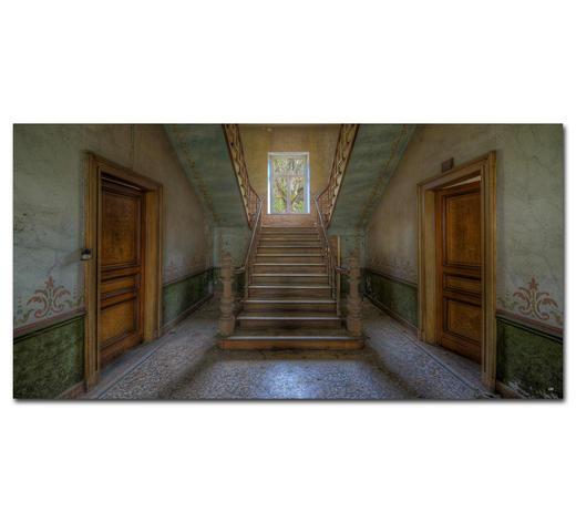 """Architektur BILD """"ADORNMENTS OF THE PAST""""  - Multicolor, Basics, Holzwerkstoff/Kunststoff (200/100cm) - Wiedemann"""