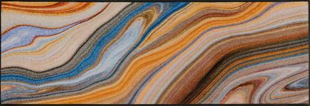 FUßMATTE 60/180 cm Graphik Beige, Multicolor - Beige/Multicolor, Kunststoff/Textil (60/180cm) - Esposa