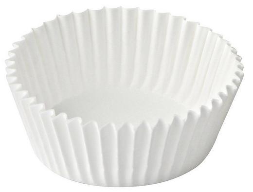 PAPIERFÖRMCHEN - Weiß, Basics, Papier (5/3cm) - Dr.Oetker