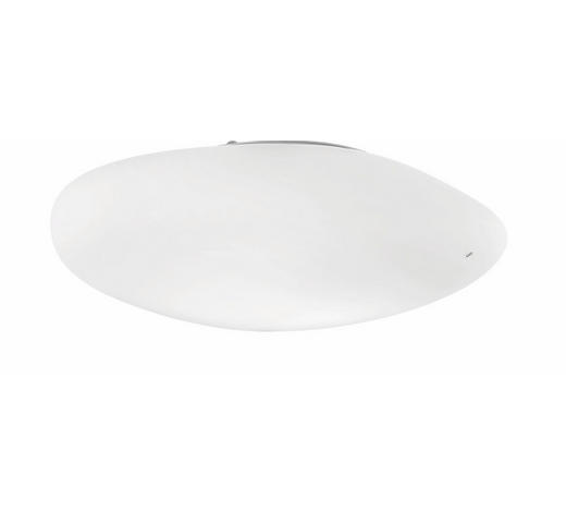 Deckenleuchte - Weiß, Design, Glas (54/50/16cm)