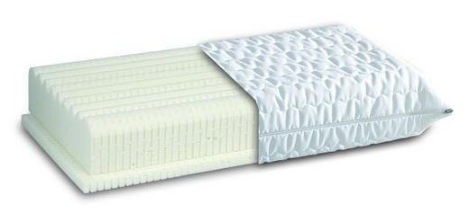 NACKENKISSEN Doppeltuch Latex - Weiß, Basics, Textil (40/80cm) - Diamona