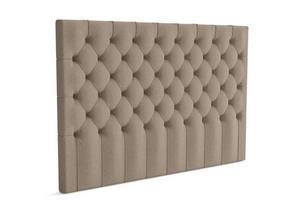 EKENS GAVEL DJUP KNAPP - sandfärgad, Klassisk, trä/textil (180/132/13cm) - Ekens
