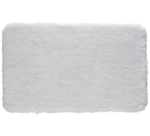BADTEPPICH  Weiß  60/100 cm - Weiß, Basics, Kunststoff/Textil (60/100cm) - Kleine Wolke